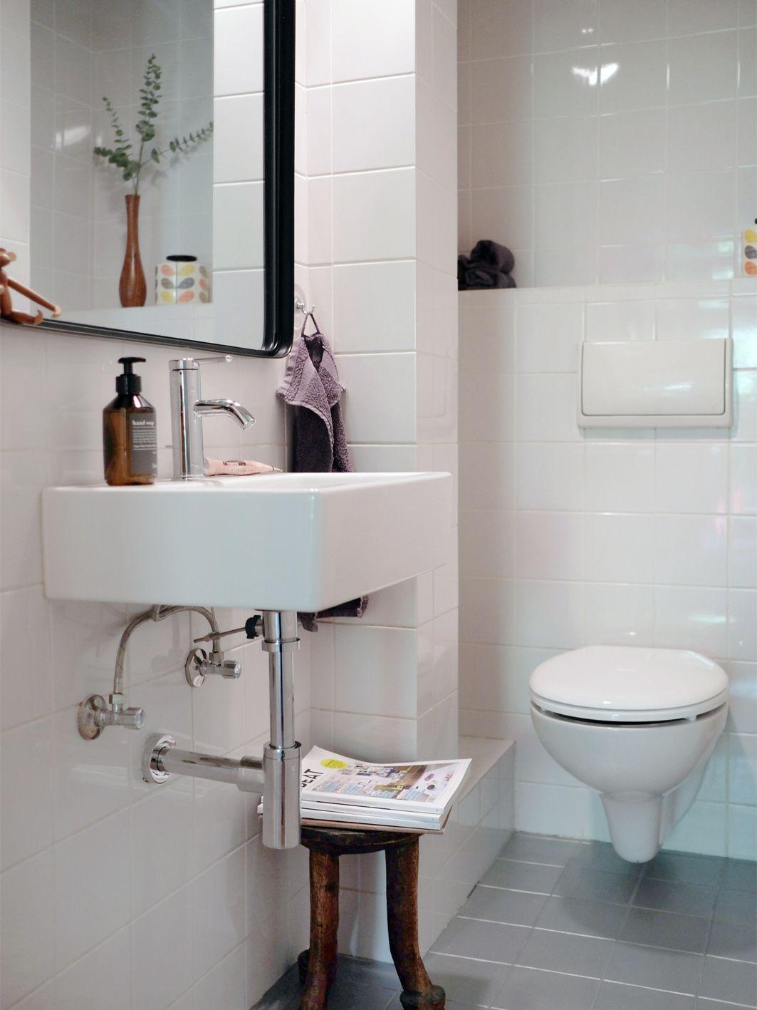 Eighties Gästetoilette im neuen Look – Budget-Renovierung in ...