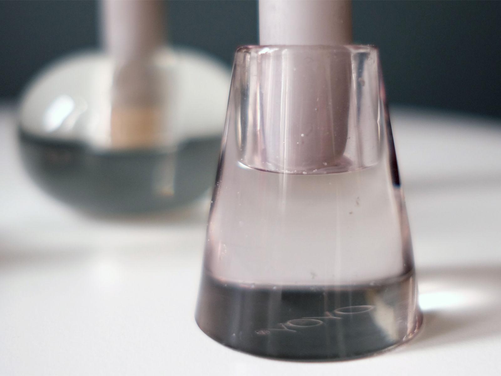 Kerzenleuchter aus glas von oyoy anneliwestberlin